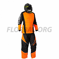 Salming Atlas JR brankárský set + maska Core Helmet Black 18/19