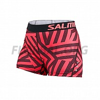 Salming Energy Shorts Women Coral/All Over Print 18/19