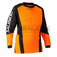 Salming Atlas Goalie Jersey JR Orange/Black brankársky dres