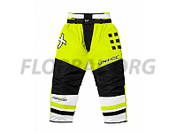 Unihoc brankárske gate Feather SR neon yellow