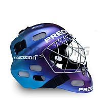 PRECISION GOALIE HELMET tricolor senior