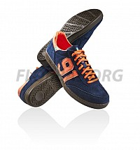 Salming NinetyOne Navy/Orange sálová obuv