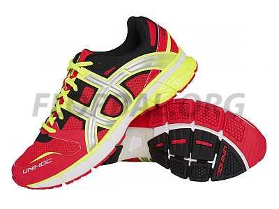 Unihoc U3 Runner TRX neon red bežecká obuv 76d9b82f46b